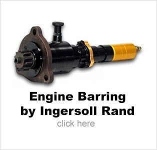 Engine Barring Motors by Ingersoll Rand