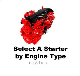 Select Air Starter from Engine Model
