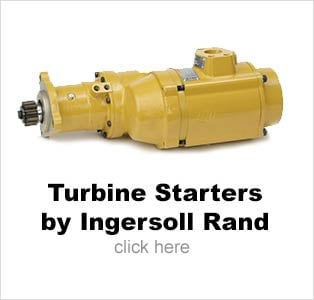 Turbine Air Starters by Ingersoll Rand